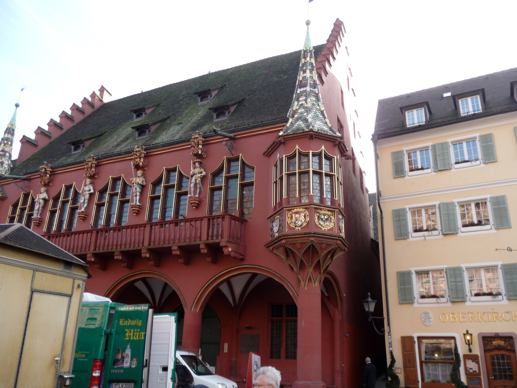 Colorful and Ornate German Building