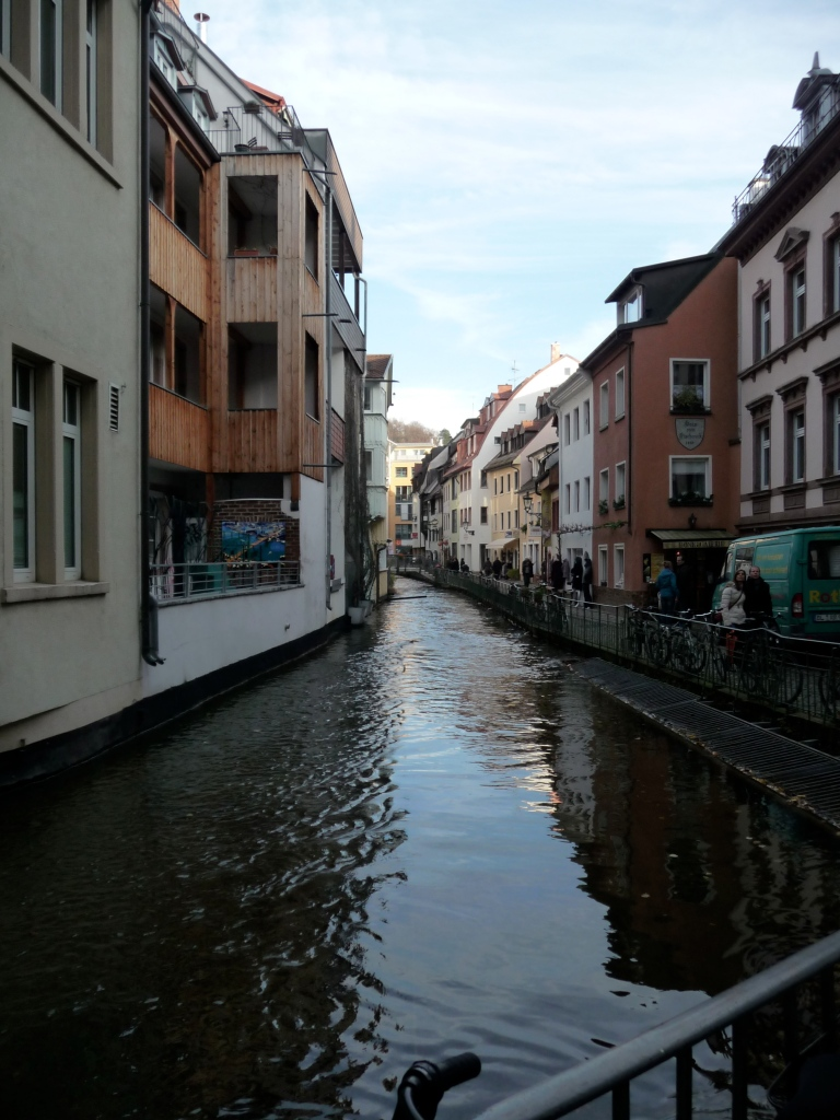 Canal in Freiburg