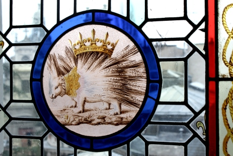 Chateau de Blois - the porcupine is a symbol of Louis XII